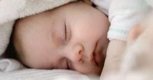 Should you wake a sleeping baby?